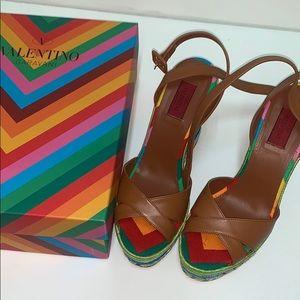 VALENTINO BNIB summer Wedge heel